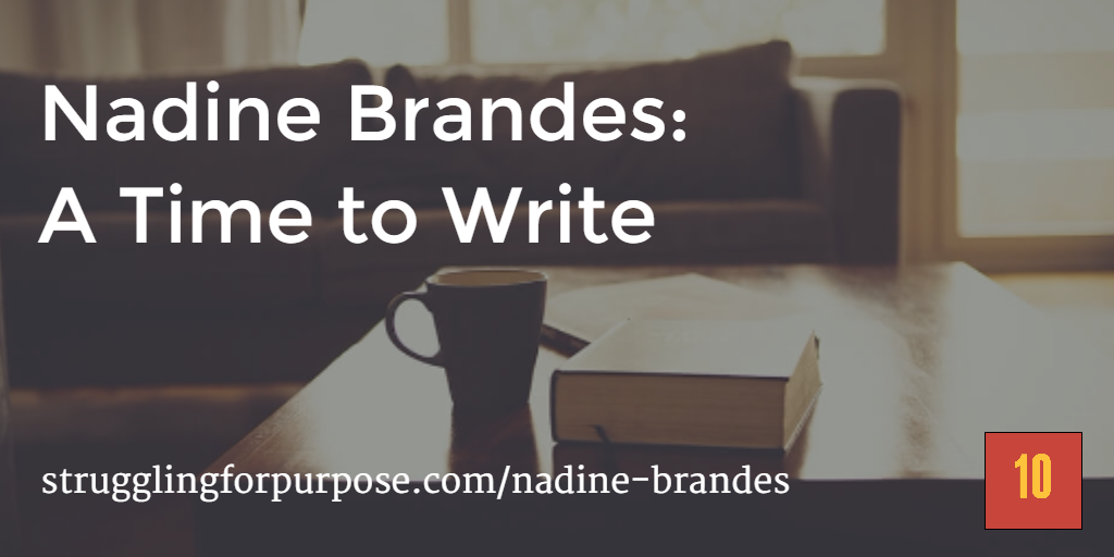 Nadine Brandes: A Time to Write — 10 the Podcast