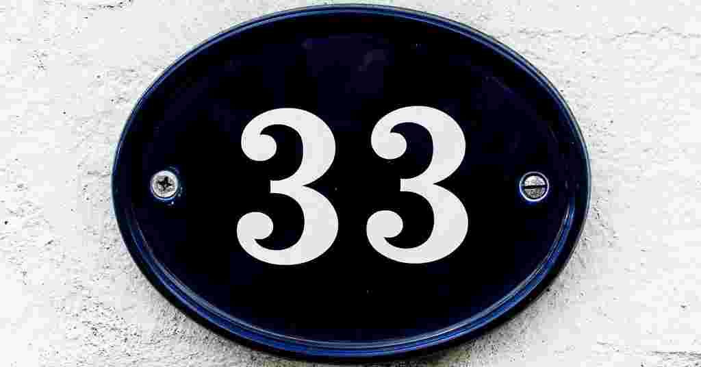 Thirty-Three – Flash Fiction Friday