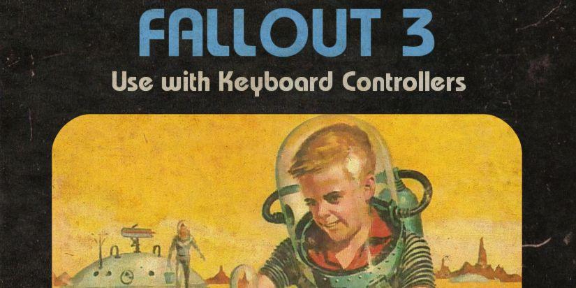 Modern Games Styled Like Atari 2600 Cartridges