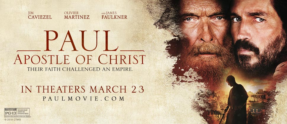 Paul, Apostle of Christ Trailer Reaction
