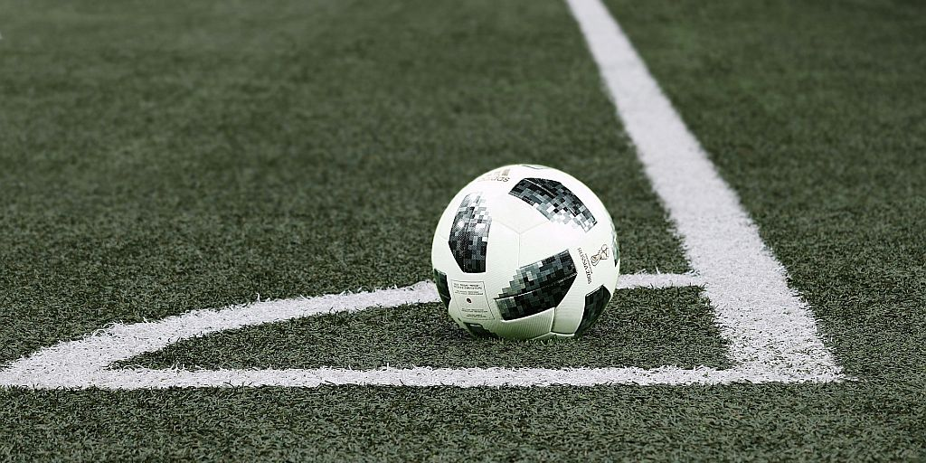 Soccer ball on field — The Game is No Longer Beautiful