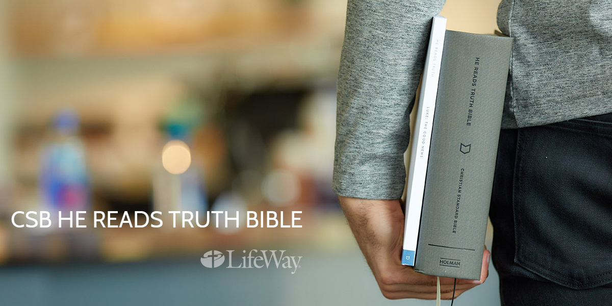 CSB He Reads Truth Bible Review and Giveaway