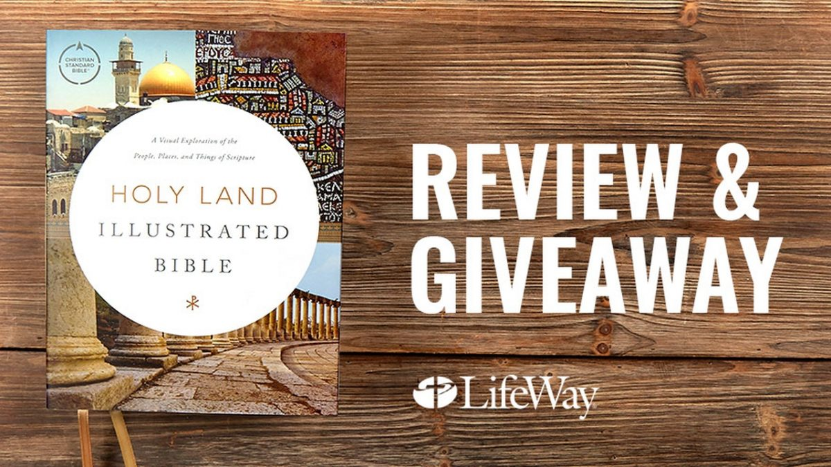 CSB Holy Land Bible Review and Giveaway