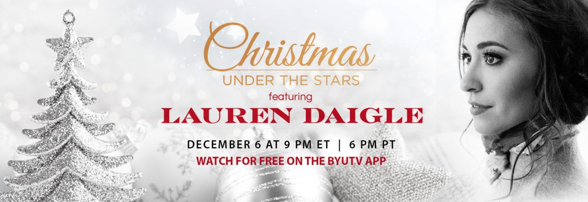 Christmas Under the Stars ft. Lauren Daigle – Review and Album Giveaway